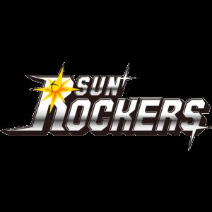 Hitachi Sun Rockers logo