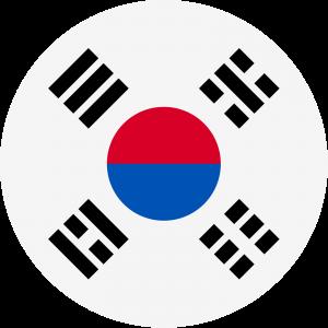 Korea (W) logo