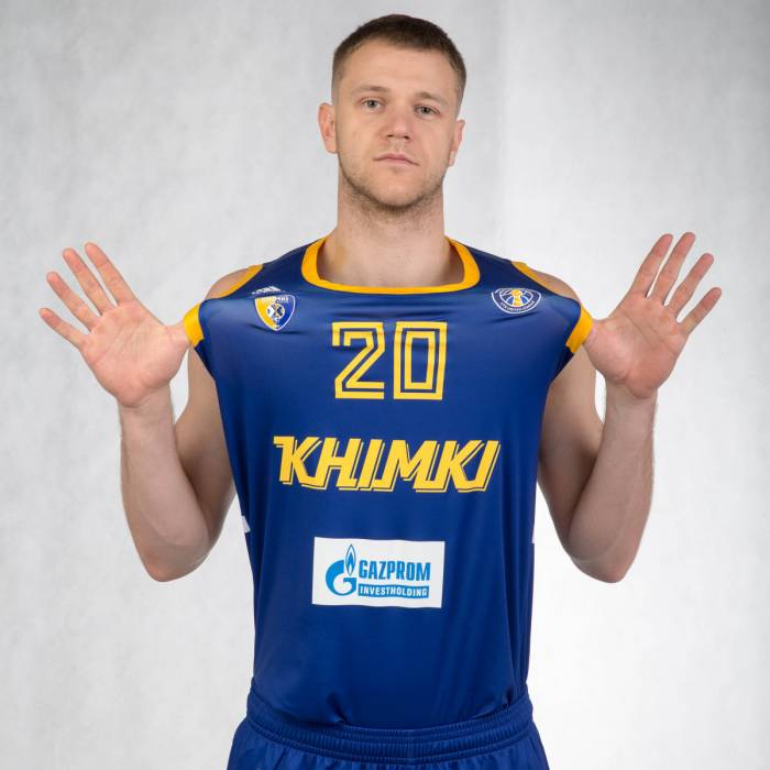 Photo de Andrey Zubkov, saison 2018-2019