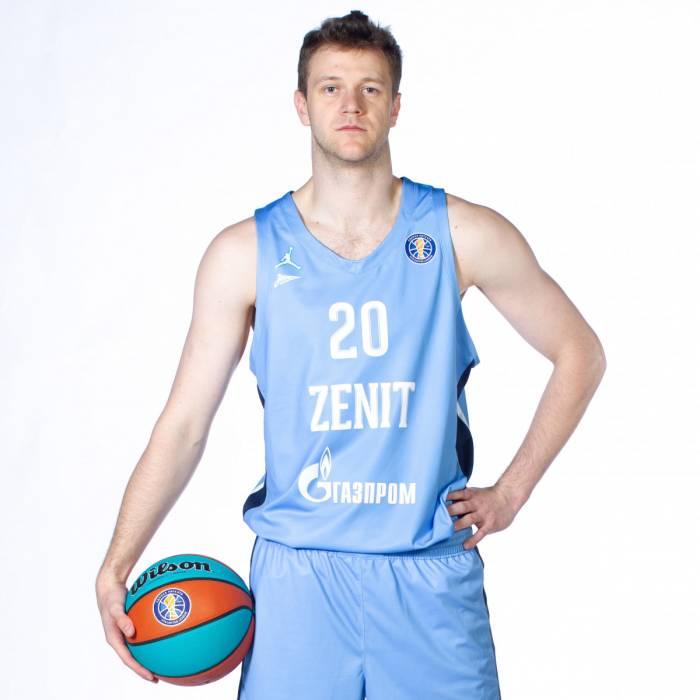 Photo de Andrey Zubkov, saison 2020-2021