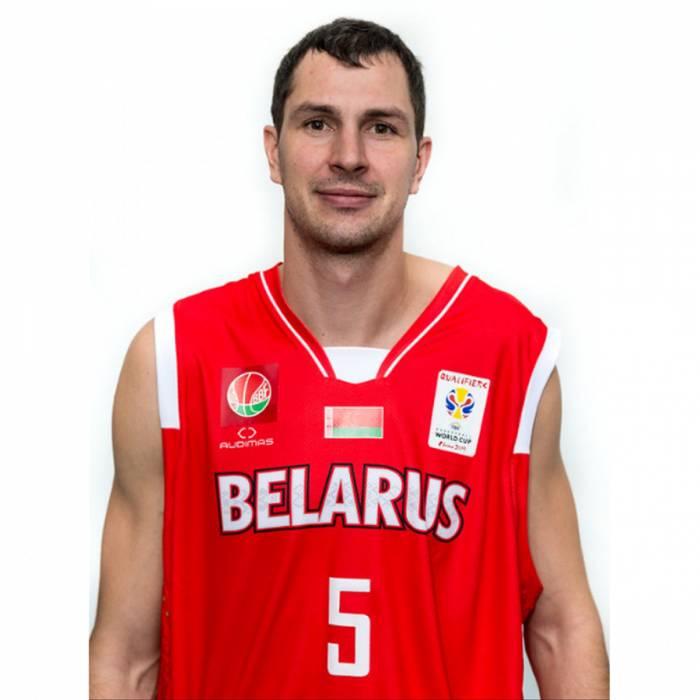 Photo de Aliaksei Trastsinetski, saison 2017-2018
