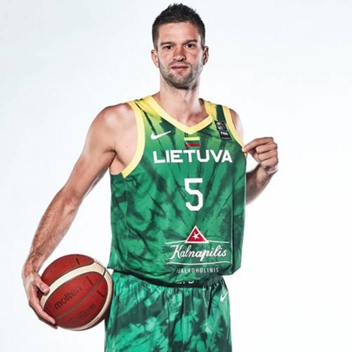 Photo de Mantas Kalnietis, saison 2021-2022
