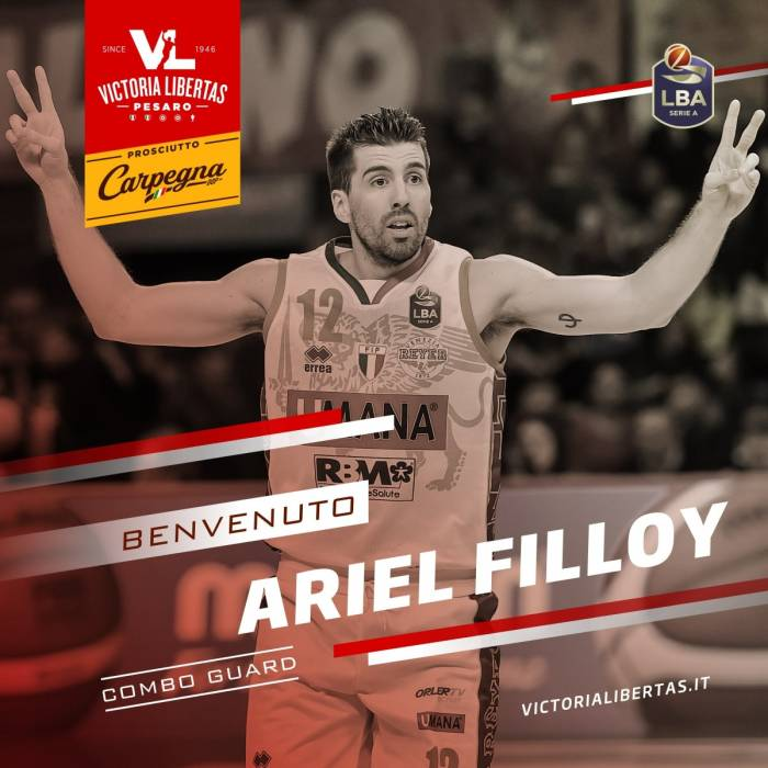 Photo de Ariel Filloy, saison 2020-2021