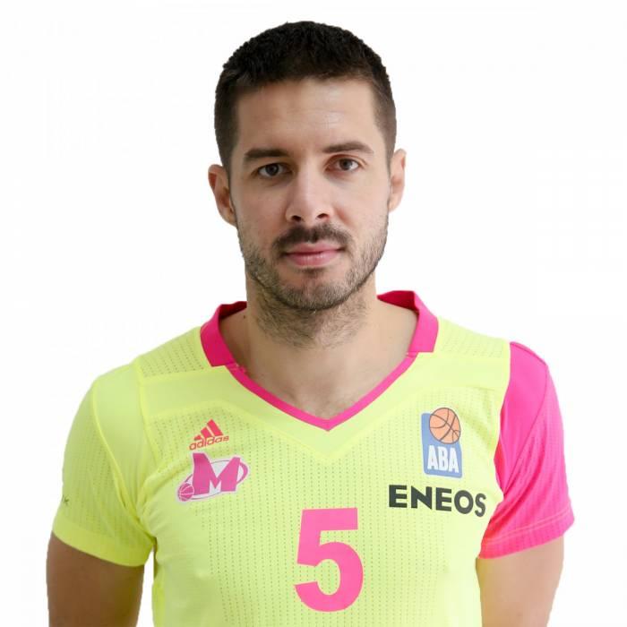 Photo de Milenko Tepic, saison 2020-2021