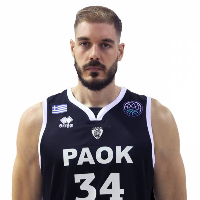 Photo of Zisis Sarikopoulos, 2019-2020 season