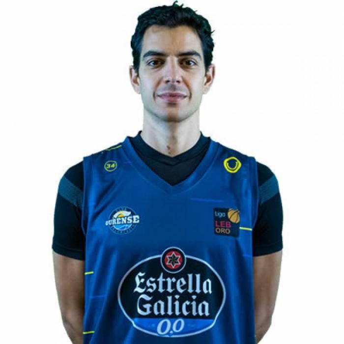 Photo de David Navarro, saison 2020-2021