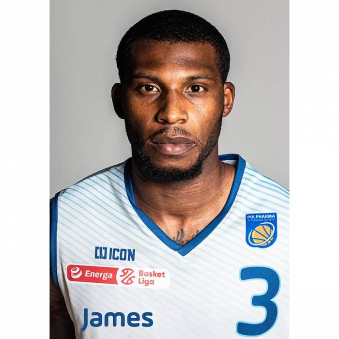 Photo of James Washington, 2020-2021 season