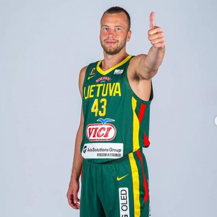 Photo de Lukas Lekavicius, saison 2019-2020
