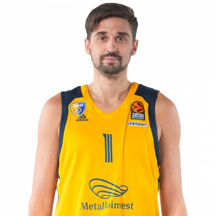 Photo of Alexey Shved, 2019-2020 season