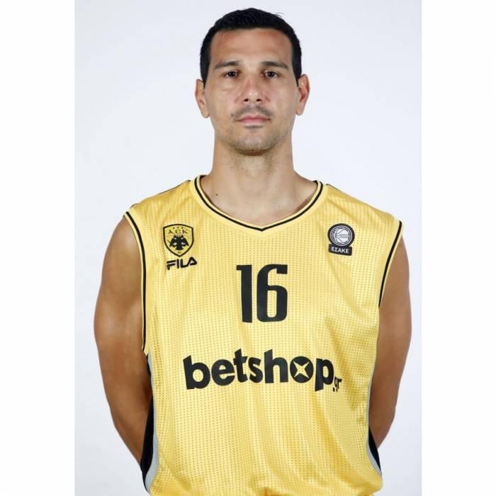 Photo de Nikos Zisis, saison 2020-2021