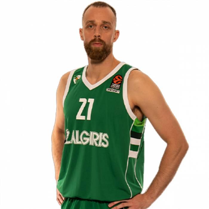 Photo of Arturas Milaknis, 2020-2021 season