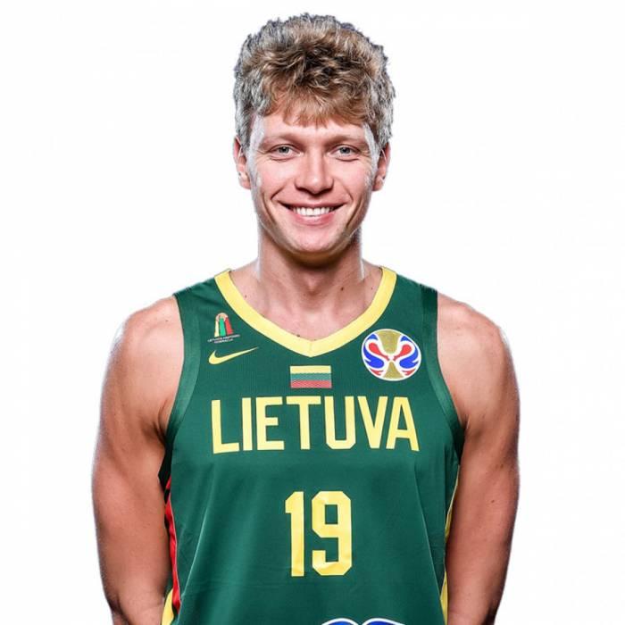 Photo of Mindaugas Kuzminskas, 2019-2020 season
