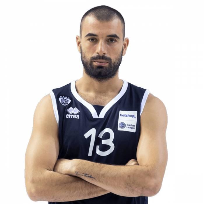 Photo de Theodoros Zaras, saison 2018-2019