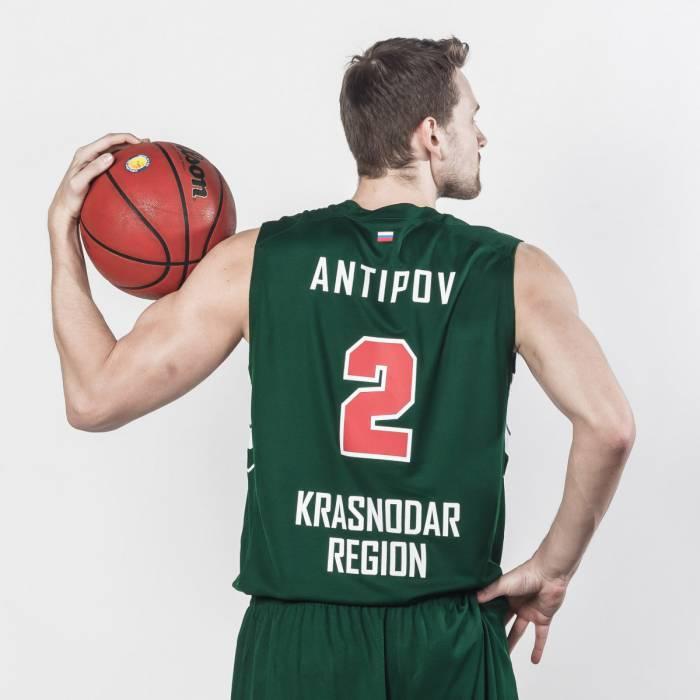 Photo de Pavel Antipov, saison 2017-2018