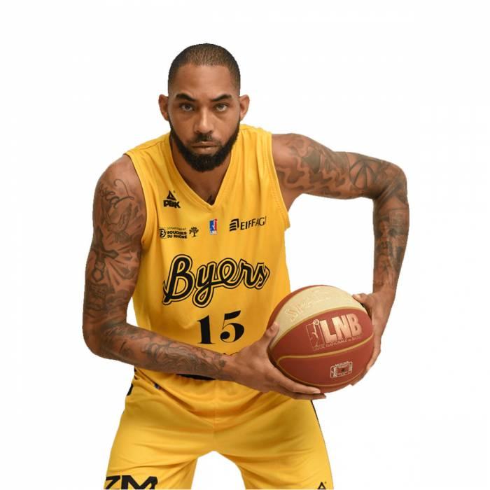 Photo of Jaraun Burrows, 2020-2021 season