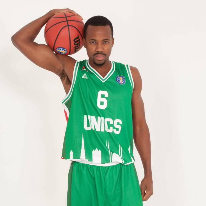 Photo de Errick Mccollum, saison 2018-2019
