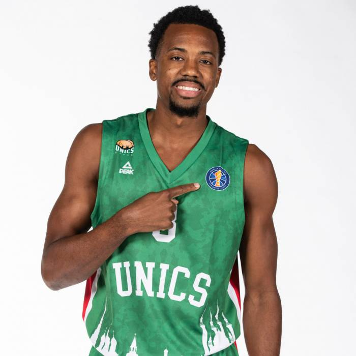 Photo de Errick Mccollum, saison 2019-2020