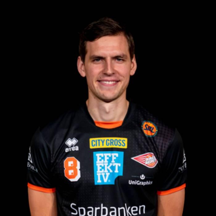 Foto de Fredrik Andersson, temporada 2019-2020