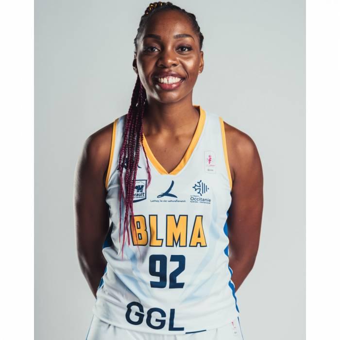 Photo of Marie-Bernadette Mbuyamba, 2021-2022 season