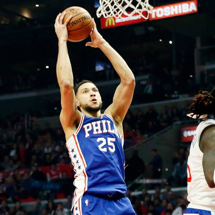 Photo of Ben Simmons, 2018-2019 season