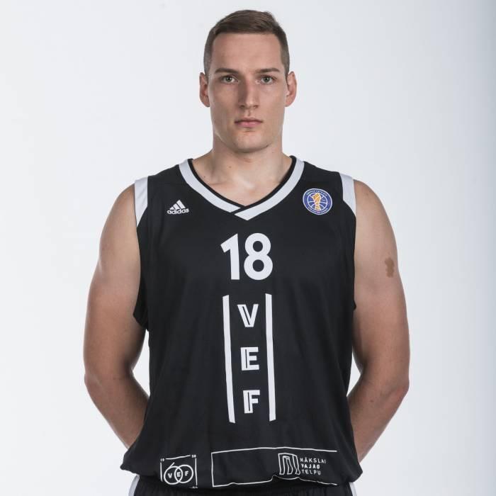 Photo de Klavs Cavars, saison 2018-2019
