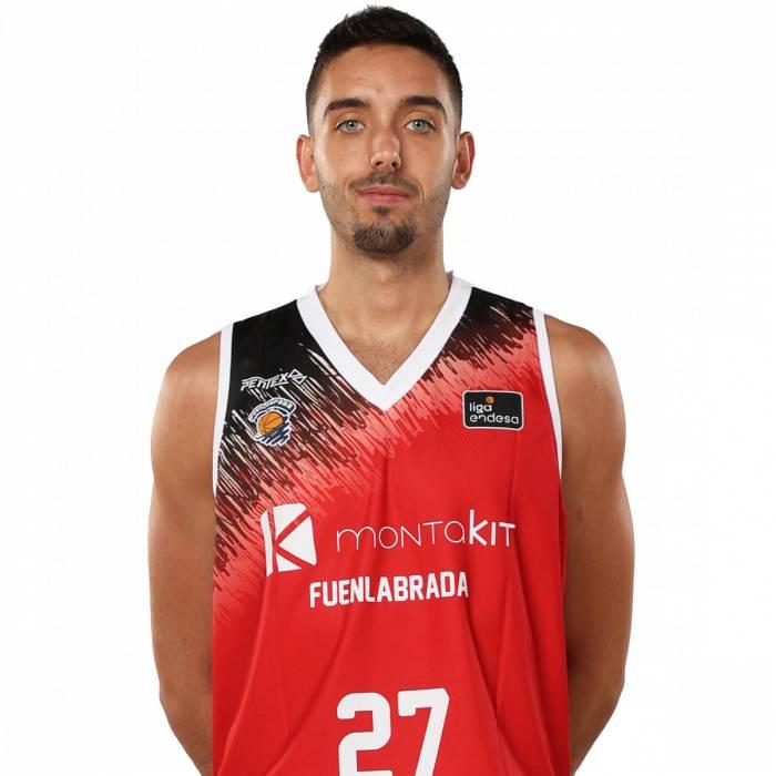 Photo de Marc Garcia, saison 2019-2020