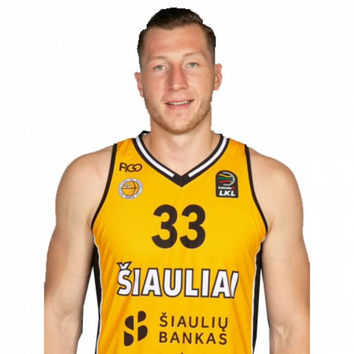 Photo of Rokas Gustys, 2019-2020 season
