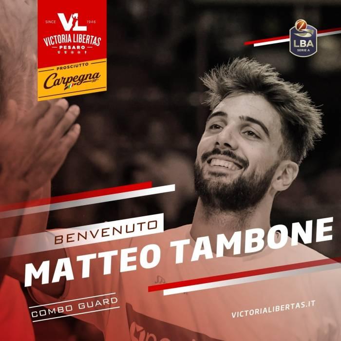Photo of Matteo Tambone, 2020-2021 season