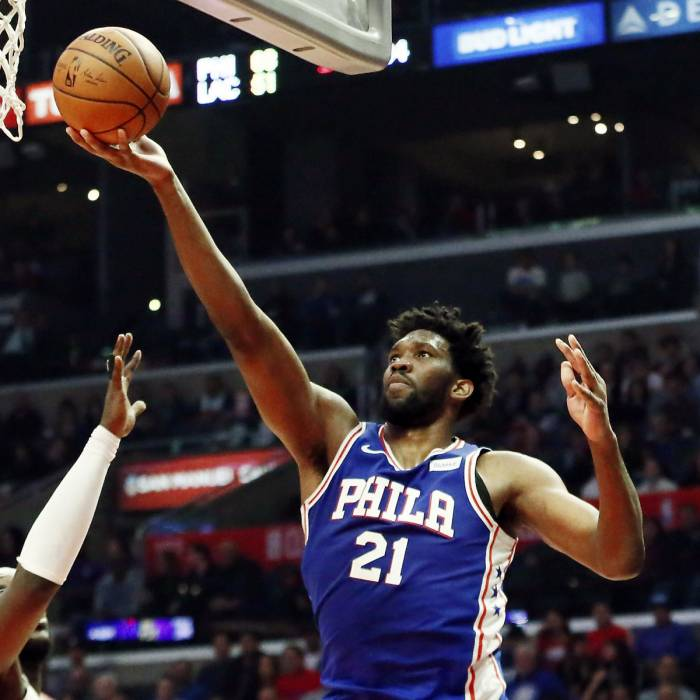 Photo of Joel Embiid, 2018-2019 season