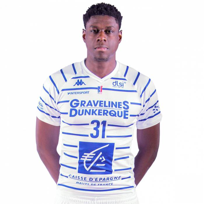 Photo of Jean-Michel Mipoka, 2019-2020 season