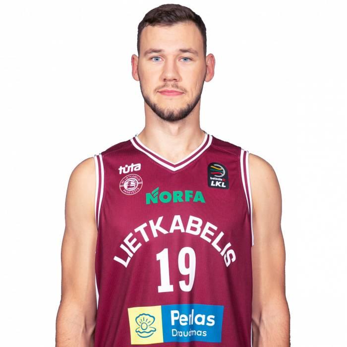 Photo de Martynas Sajus, saison 2019-2020