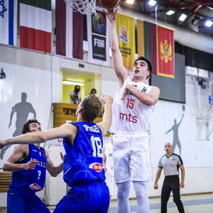 Photo de Marko Pecarski, saison 2019-2020