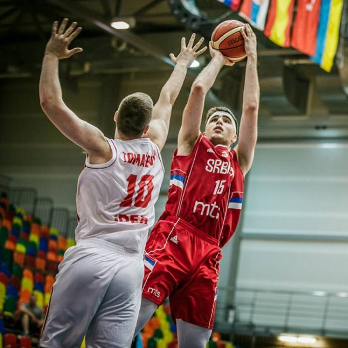 Photo de Marko Pecarski, saison 2018-2019