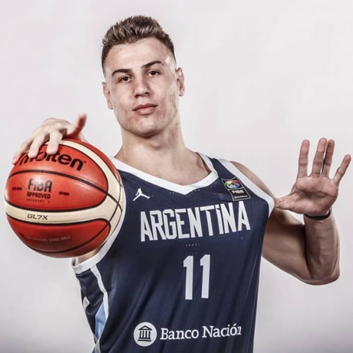 Foto de Francisco Caffaro, temporada 2019-2020
