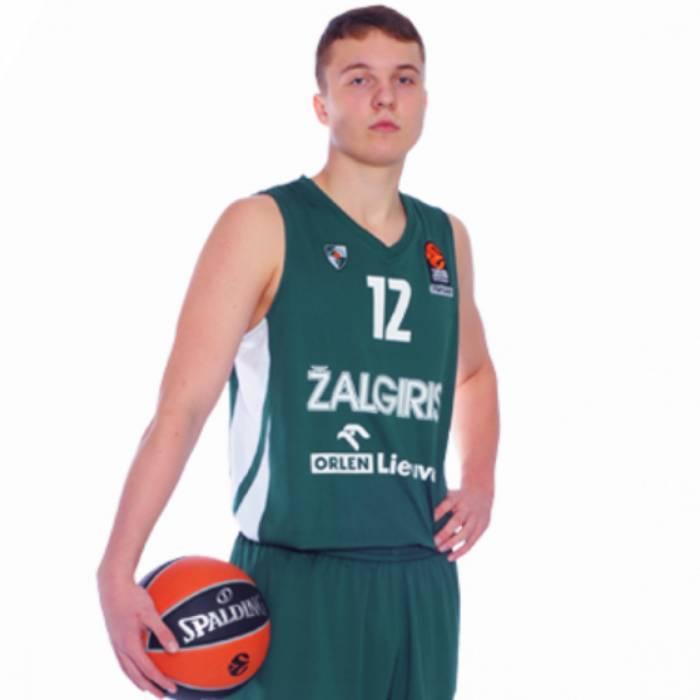 Photo of Erikas Venskus, 2018-2019 season