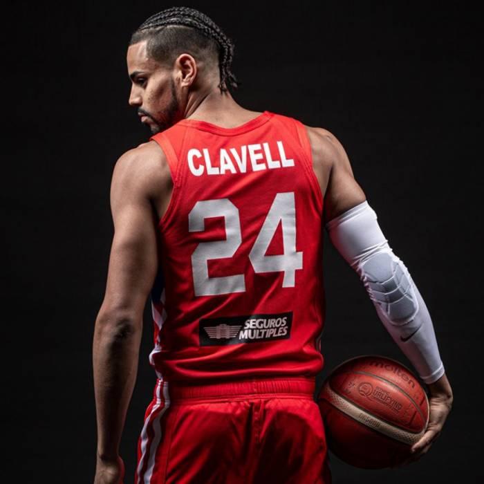 Photo de Gian Clavell, saison 2021-2022