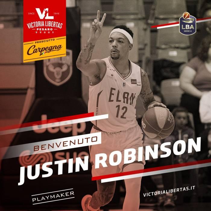 Photo de Justin Robinson, saison 2020-2021