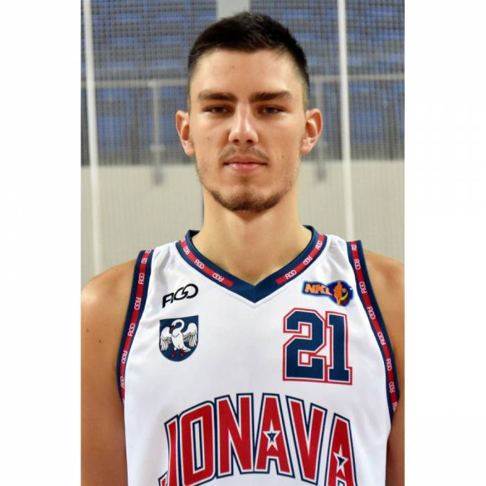 Photo of Redas Jakubauskas, 2019-2020 season
