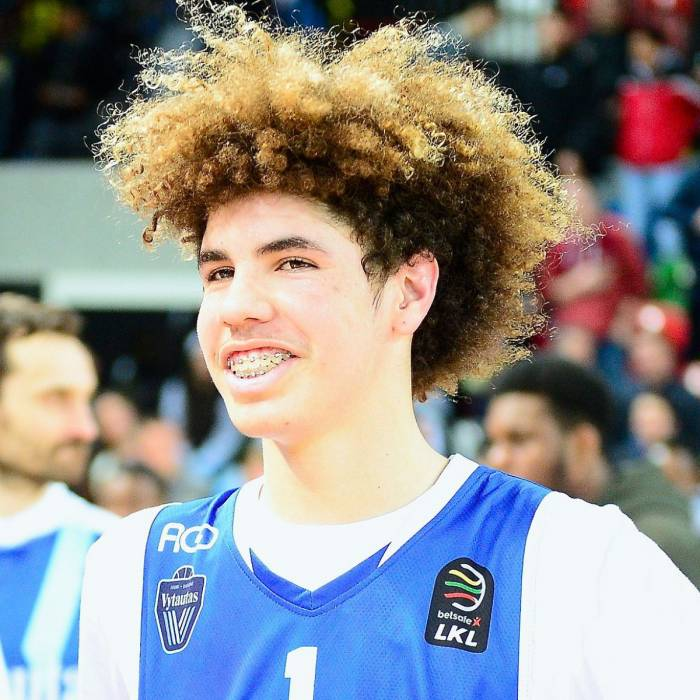 Photo of Lamelo Ball, 2017-2018 season