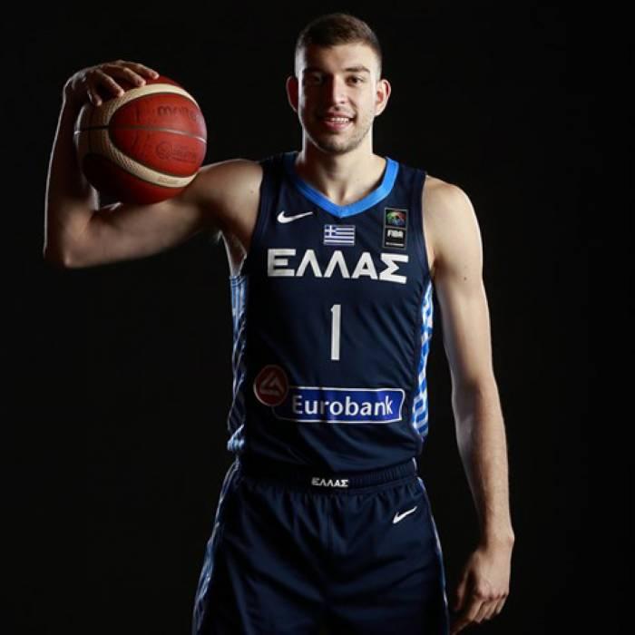 Photo de Nikos Rogkavopoulos, saison 2021-2022
