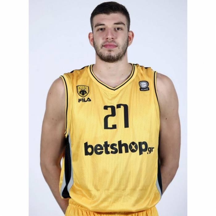 Photo de Nikos Rogkavopoulos, saison 2020-2021
