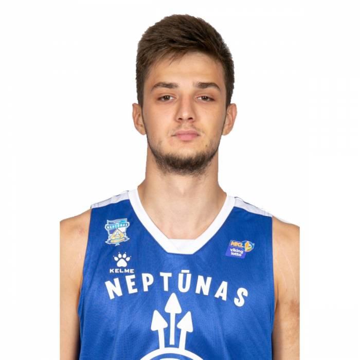 Photo of Klaidas Metrikis, 2019-2020 season