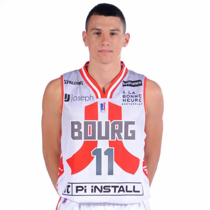 Photo de Benjamin Curis, saison 2019-2020