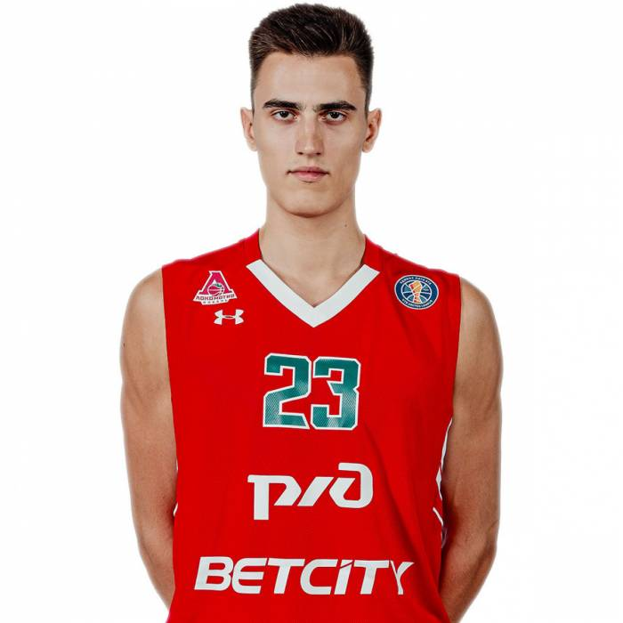 Photo de Sergey Dolinin, saison 2019-2020