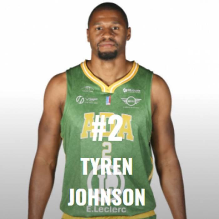 Photo of Tyren Johnson, 2020-2021 season