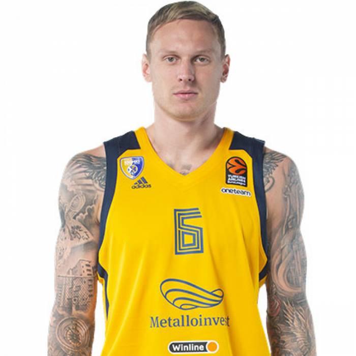 Photo de Janis Timma, saison 2019-2020