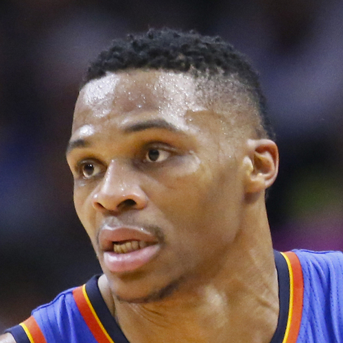 Russell Westbrook scores 45 against the Mavs