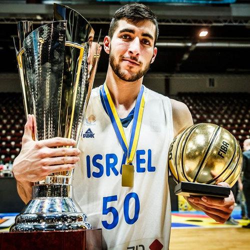 Yovel Zoosman (Israel) named MVP