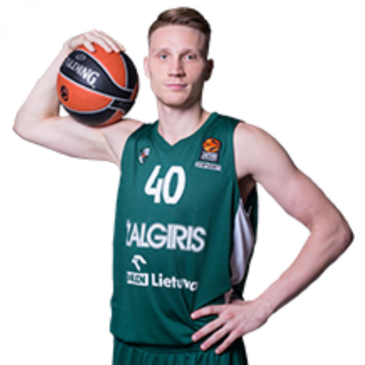 Photo of Marius Grigonis, 2018-2019 season