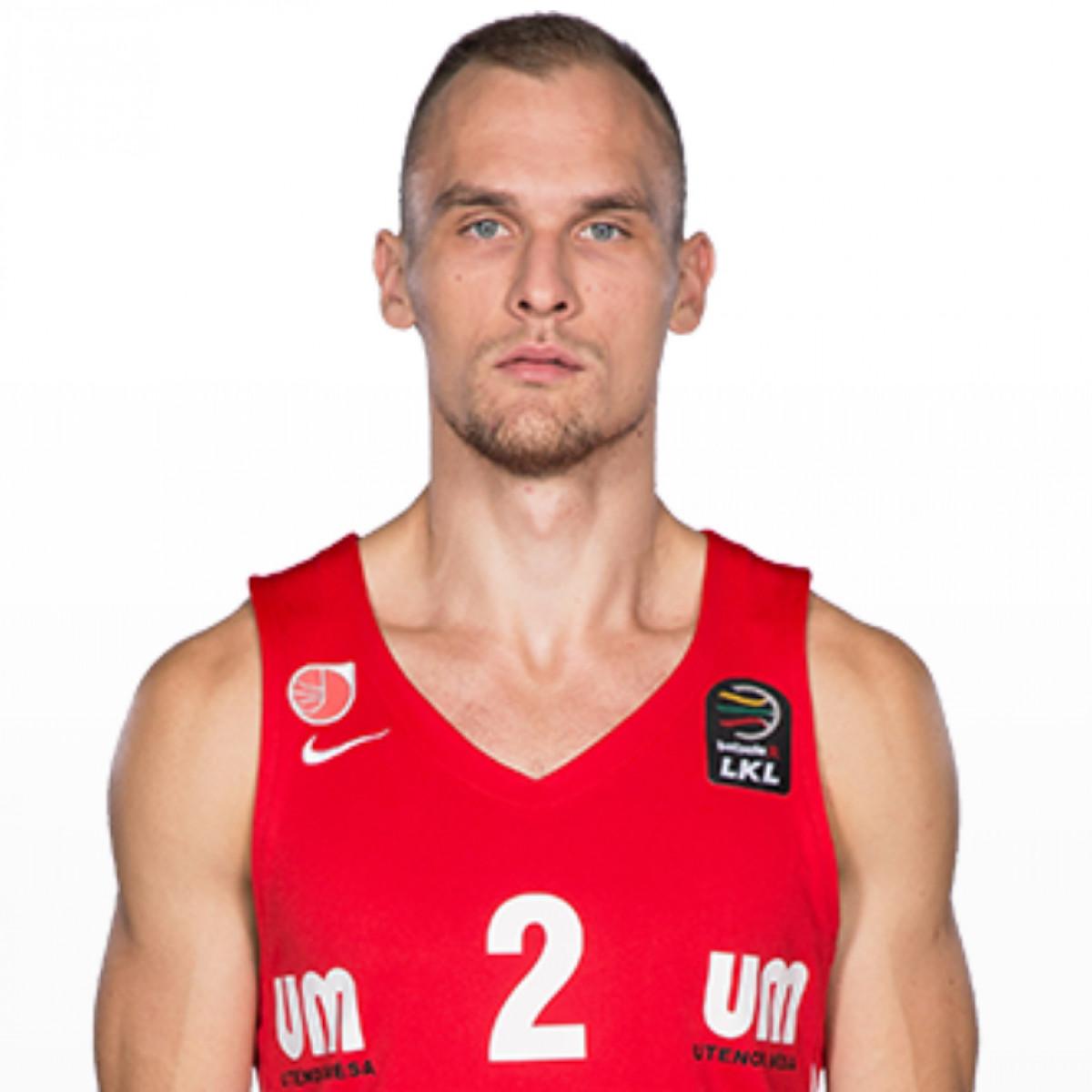 Photo of Dovis Bickauskis, 2018-2019 season